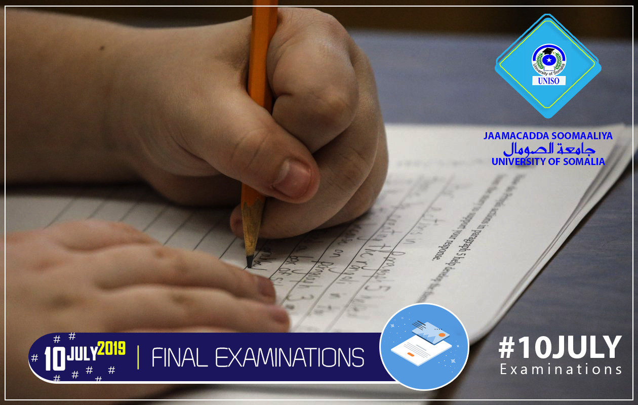 THE FINAL EXAMINATION OF THE SECOND SEMESTER 2018 � 2019  Image not found